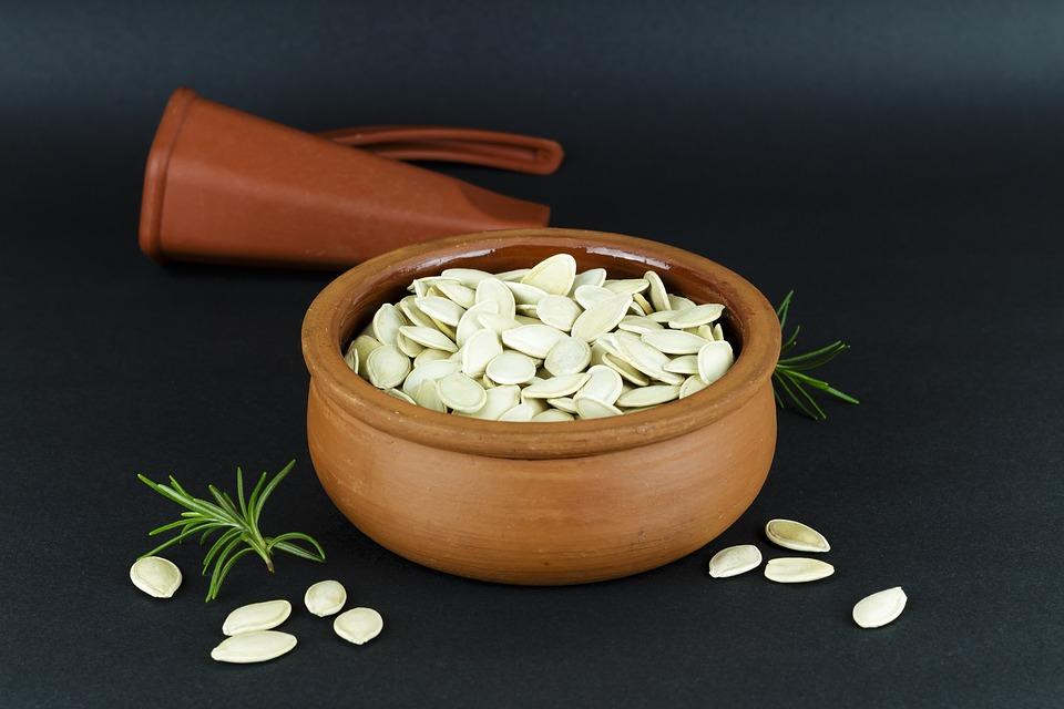 cocinar con semillas de calabaza