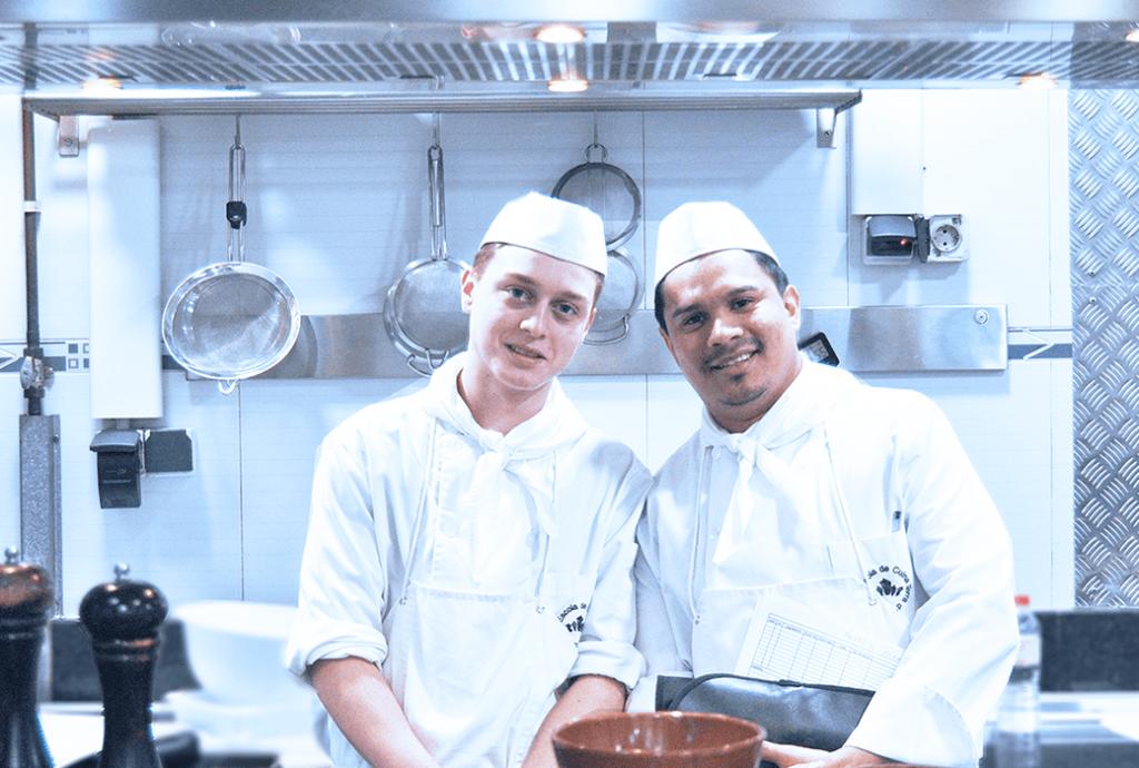 pràctiques dels cursos de cuina a terradescudella