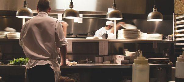 Las prácticas en cocina