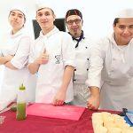 Alumnos de la Escuela de Cocina Terra de Escudella