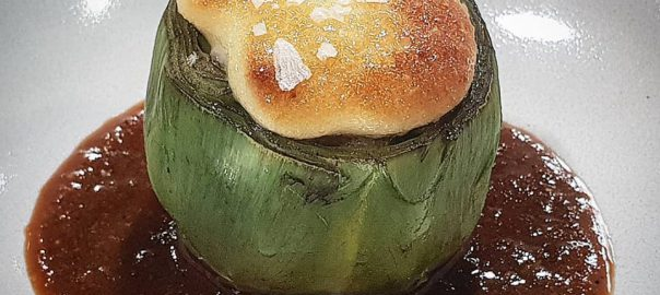 Receta de alcachofas rellenas de langostinos