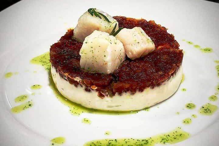 Receta de bacalao con mermelada de tomate