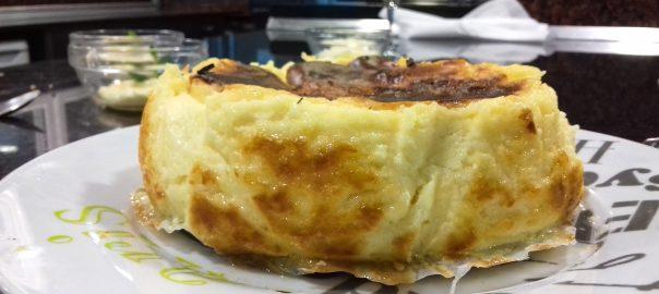 Receta de pastel de queso vasco