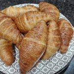 Receta de croissants