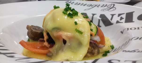 Receta de raclette de verduras
