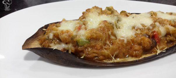 Receta de berenjena con quinoa