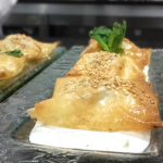 Receta de crujiente de zanahoria y queso fresco