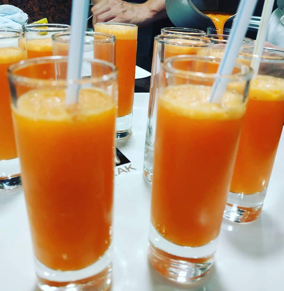 Granizado de zanahoria