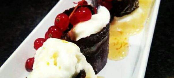 Receta de aros de chocolate