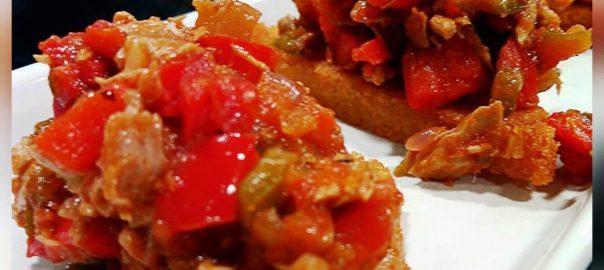 Receta de bonito del norte con tomate