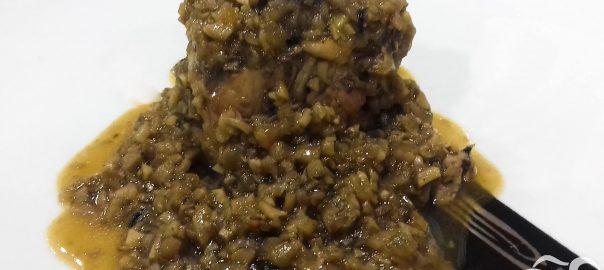 Solomillo iberico con salsa perigourdina