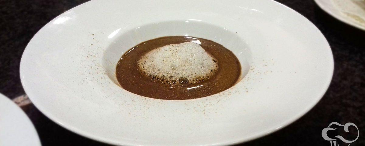 Sopa de chocolate