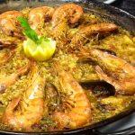 Paella de marisco tradicional