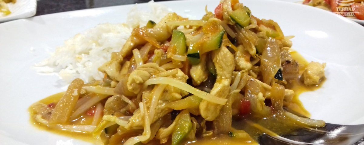 Receta de chop suey de pollo