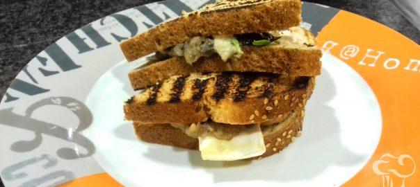 Receta de Sandwich de berenjena