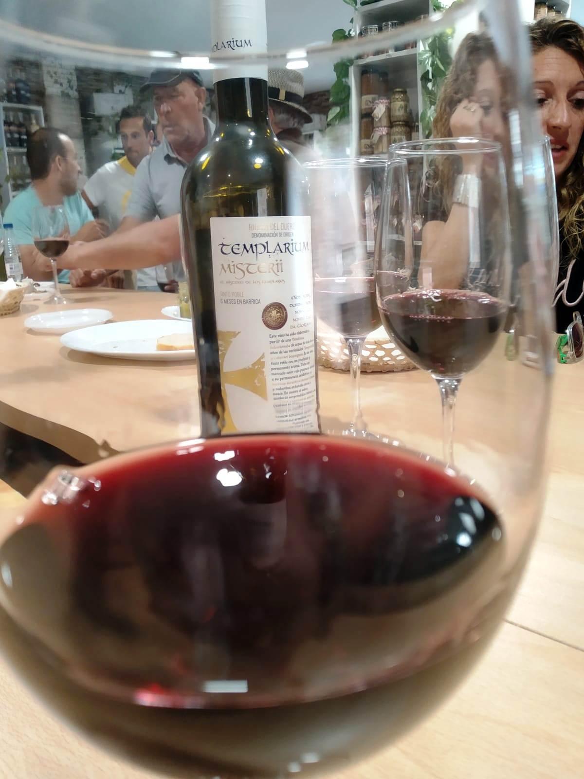 La carta de vinos