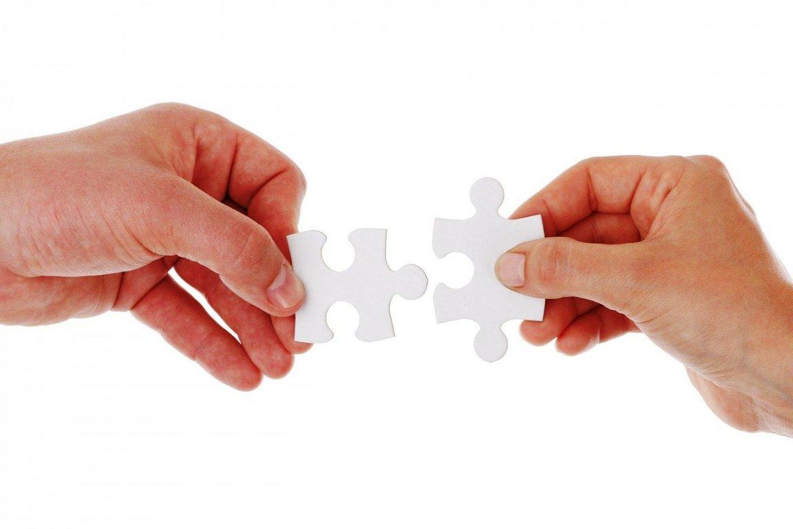 conexión para trabajar en equipo