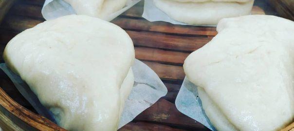 Receta de pan bao