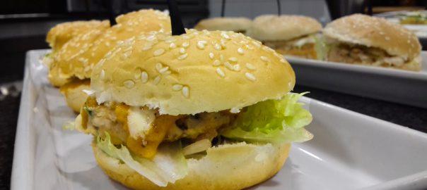 Receta de hamburguesa de pescado