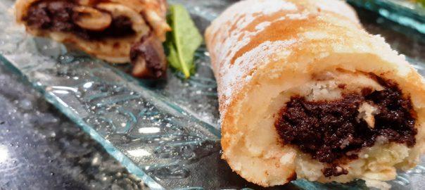 Recetas de creps souffle con castañas