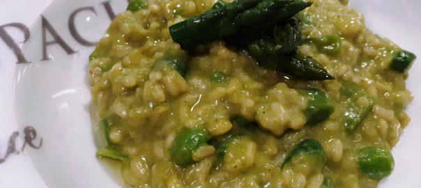 Receta de risotto de verduras