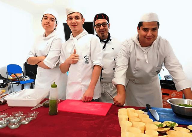 Alumnos escuelas de cocina en barcelona
