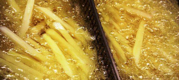Fritura de patatas