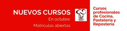 Nuevos cursos profesionales en octubre
